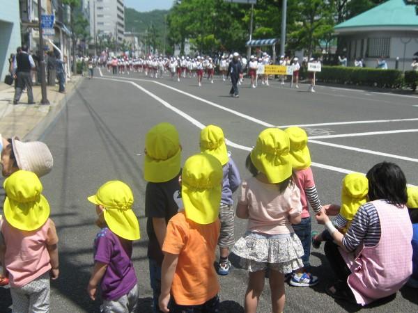 鼓笛パレードを見に行ってきたよ♪
